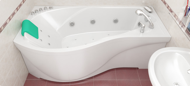 Акриловые ванны. Преимущества