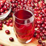 Клюквенный сок снижает риск развития инфекций
