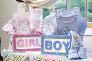 Первые подарки новорожденных