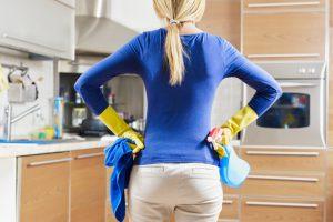 Домашняя уборка может вызвать астму