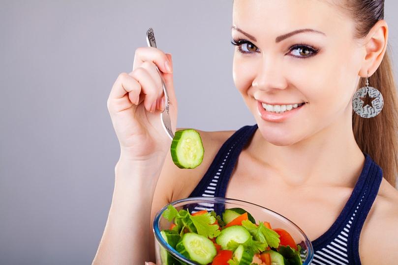 Рацион питания, который способствует очищению кожи