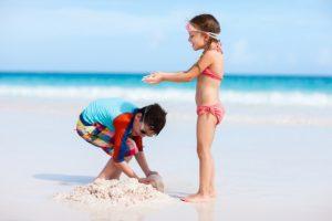 Дети и пляж
