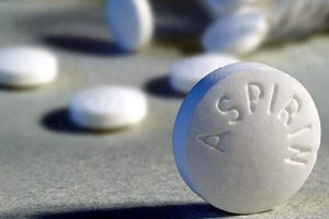 Аспирин при лечении гриппа может вызвать внутреннее кровотечение