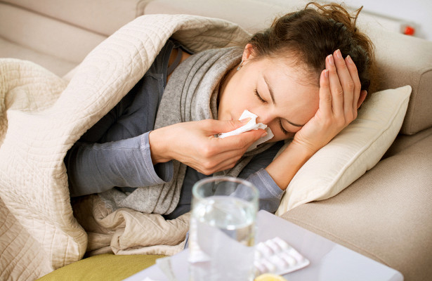 Первая волна гриппа ожидается в начале января