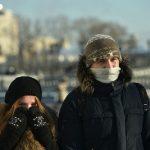Врач: в сильный мороз дышать на улице надо через нос