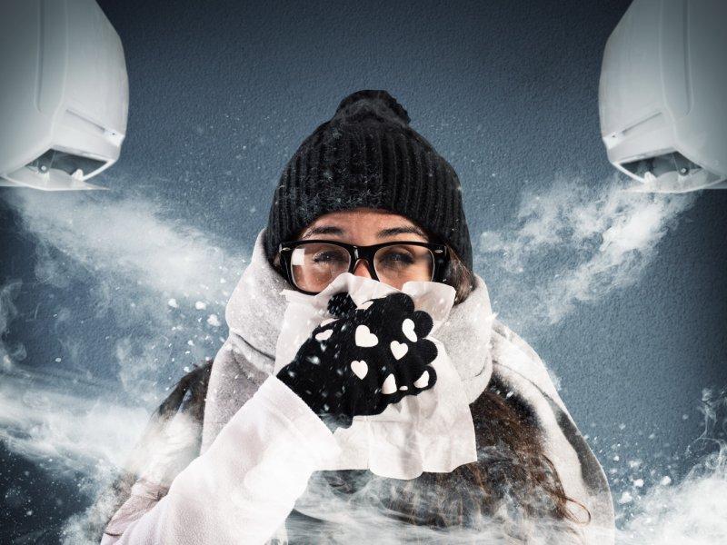 Кондиционер и простуда: чем опасны для здоровья офисные охладители?